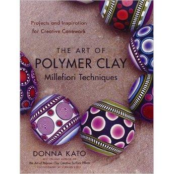 "Книга по лепке из полимерной глины ""The Art of Polymer Clay Millefiori Techniques"""