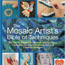 """Книга по работе с мозаикой """"The Mosaic Artist's Bible of Techniques"""""""
