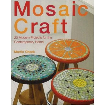 "Книга по работе с мозаикой ""Mosaic Craft: 20 Modern Projects for the Contemporary Home"""
