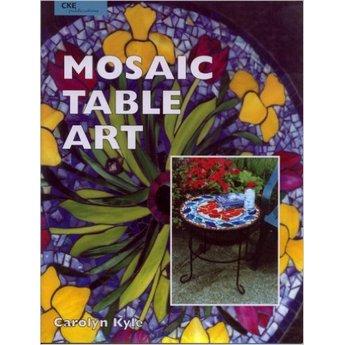 """Книга по работе с мозаикой """"Mosaic Table Art"""""""