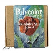 Набор акриловых красок Polycolor (Maimeri) 5 цв