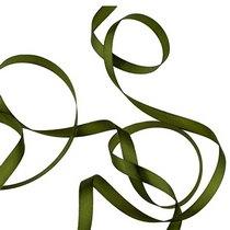 Атласная лента, цвет травяной, 12мм, 1м.