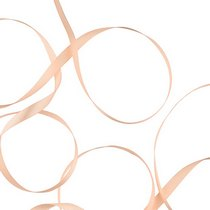 Атласная лента, цвет персиковый 12 мм, 1м.