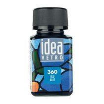 Краска для стекла Idea 360 Голубой