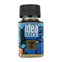 Краска для стекла Idea 138 Золотая