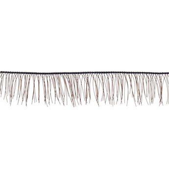 Ресницы для кукол, цвет коричневый, 8 мм.
