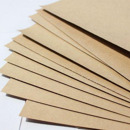 Крафт картон, листовой, А-4