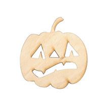 Заготовка Тыква на хэллоуин №2, 6,5х7 см