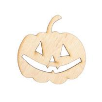 Заготовка Тыква на хэллоуин №1, 7х7 см