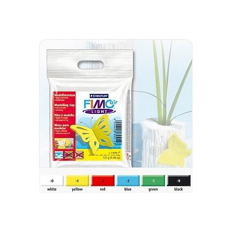 Самозатвердевающая пластика FIMO®air light, 125г, желтый