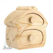 Комод сказочный деревянный №4 18х8х17см