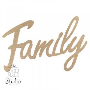 """Слово """"Family""""№2"""
