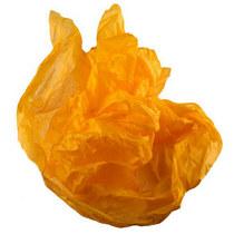 Бумага тишью, цвет -  оранжевый, 50х70 см, 1 лист