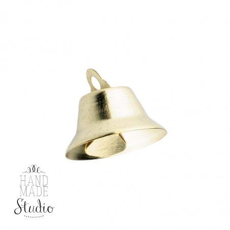 Колокольчик металлический 1,6 см, цвет золото