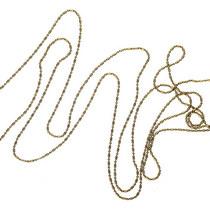 Цепь шарики и колбочки, цвет - бронза, 1м