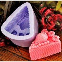 Форма-элит для мыла Клубничный пирог 3D