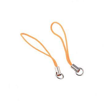 Подвеска для мобильного телефона, цвет яркий оранжевый
