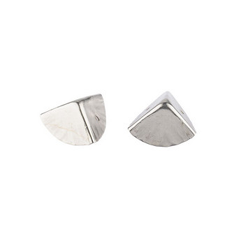 Уголок  металлический PL, цвет серебро 1,5х1,5 см