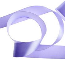 Атласная лента, цвет сиреневый, 50 мм