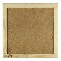 15х15х2 см Деревянная рамочка без стекла