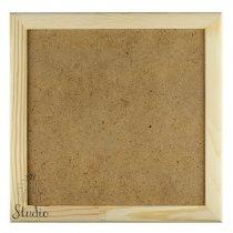21х21х2 см Деревянная рамочка без стекла