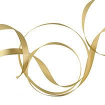 Атласная лента, цвет светлый бронзовый, 12мм