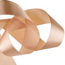 Атласная лента, цвет пепельный розовый 50 мм