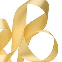 Атласная лента, цвет золото,25 мм, 1м.