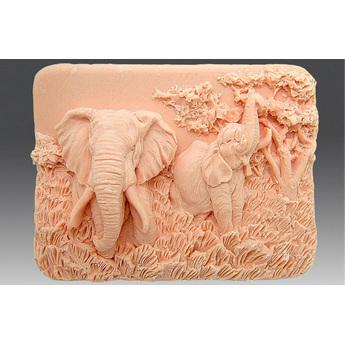 """Форма-элит для мыла """"Слоны"""""""