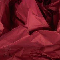 Бумага тишью, цвет - бордовый