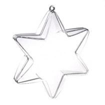 Пластиковая заготовка разъемная звезда 10 см