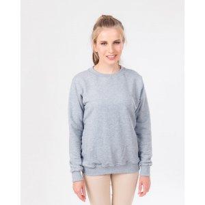 Серый женский свитшот, размер XS