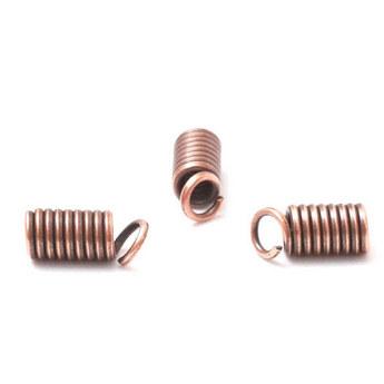 Концевик с цепочкой и кулоном, цвет - серебро