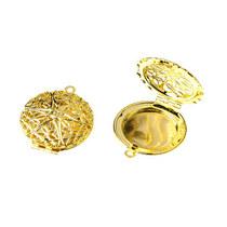Медальон золотого цвета, 27 мм