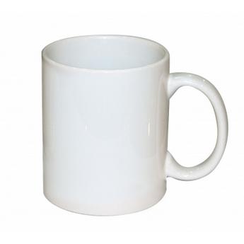 Чашка фарфоровая, белая