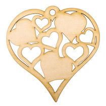 Деревянная заготовка Сердце Love