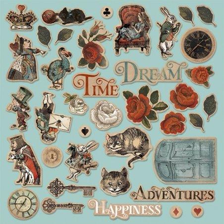 "Набор высечек для скрапбукинга ""Time to Dream"", 39 штук"