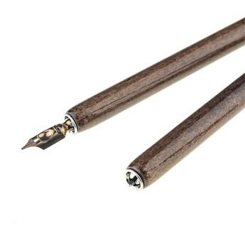 Держатель для пера  Manuscript, морилка, темный лак