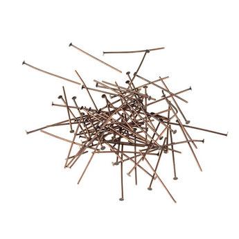 Гвоздики, цвет - медь, 3,5 см