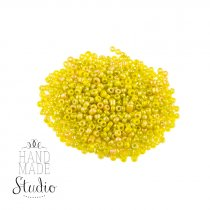 Бисер мелкий, цвет - светло-желтый матовый №39