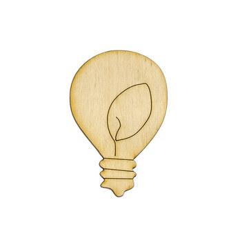 Деревянная заготовка Лампочка №2