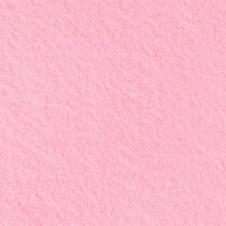 Фетр листовой мягкий, 20х30 см, розовый