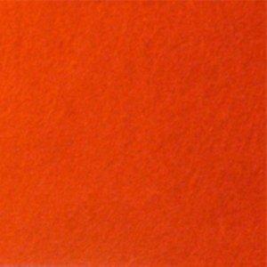 008 Фетр листовой, цвет оранжевый