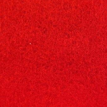 002 Фетр листовой, цвет красный