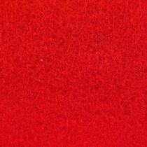 002 Фетр листовой мягкий, цвет красный