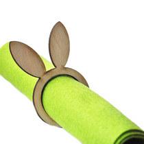Деревянная заготовка Ушки (кольцо для салфеток)