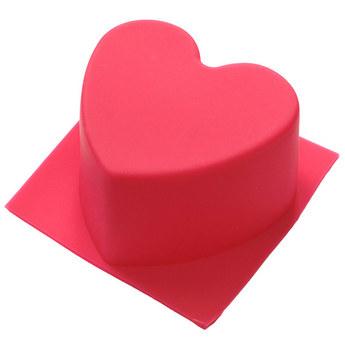Силиконовая форма Сердце ровное