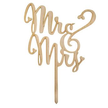 Топпер Mr & Mrs
