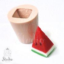 Форма-элит для мыла Кусочек арбуза 3D