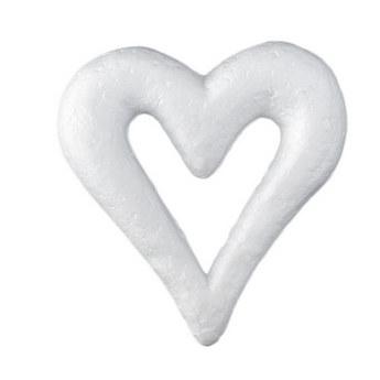 Сердце пенопластовое, 11,5 см